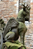 Перитон. Статуя во Дворце Линлитгоу