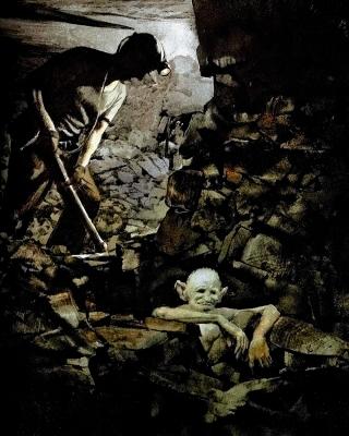 Стуканец (Knocker). Иллюстрация Роберта Ингпена
