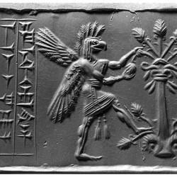 Ануннак на месопотамской печати