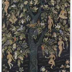 Изображение Дерева Вак-Вак в рамках дехканской школы (Индия, XVII век)