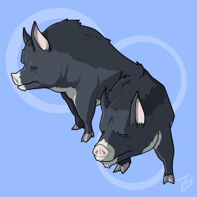Бинфэн. Иллюстрация Трэйси Шепарда
