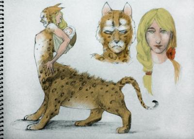 Арысь-поле. Рисунок Юлианы Фокс