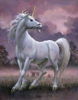 Единорог. Картина Дона Мейца