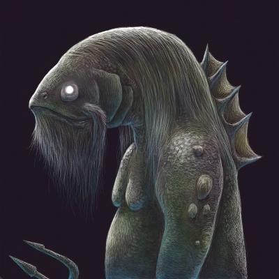 Водяник. Рисунок Артура Басака