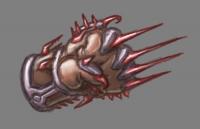 Рукавица Вамфири. Рисунок Механьяка