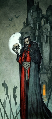 Вампир. Иллюстрация Юхана Эгеркранса