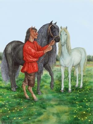 Вазила. Иллюстрация Валерия Славука