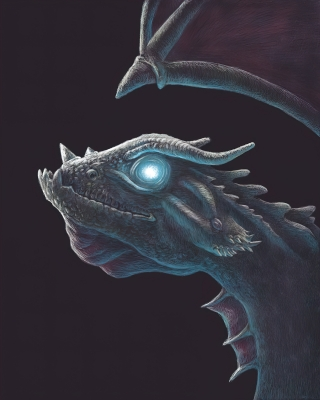 Вель. Рисунок Артура Басака