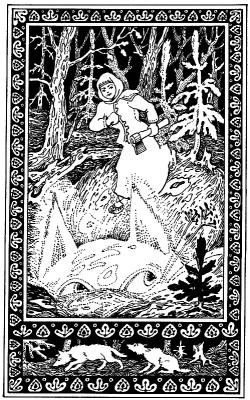 """Земляная кошка. Иллюстрация к сказке Бажова """"Кошачьи уши"""""""