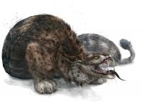 Гадюка-рысь. Иллюстрация Елены Самойловой (Kuroi)