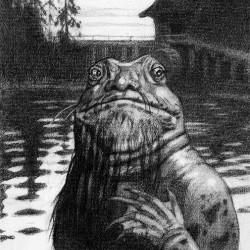 Водяной. Рисунок Ивана Билибина