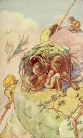 """Ваконьинго. Иллюстрация Элис Вудвард к книге Элис Вернер """"Мифы народов Африки"""" (1925)"""