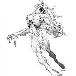 Вендиго. Рисунок Айзека Хорна