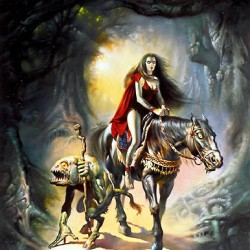 """Witch"". Картина Бориса Валледжо"
