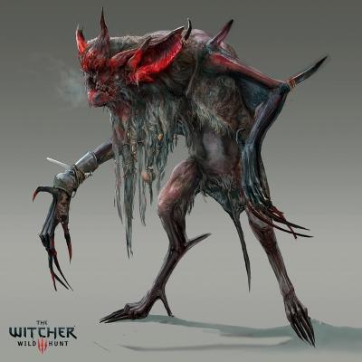 "Катакан. Концепт-арт к игре ""Ведьмак III (Witcher III)"""