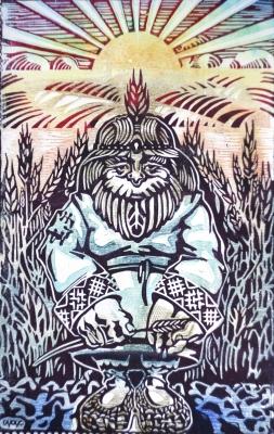 Полевик. Иллюстрация Кирилла Сидорова