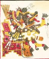 Шолотль. Изображение из кодекса Борджиа