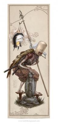 Ёкай. Иллюстрация Кейта Томпсона