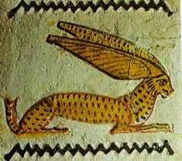 Заяц. Древнеегипетское изображение