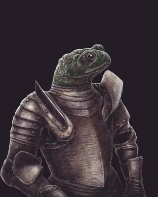 Жабалака. Рисунок Артура Басака