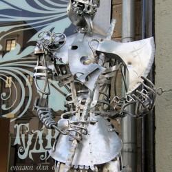 Железный дровосек. Cовременная скульптура, Минск