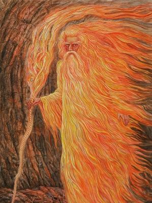 Жыжаль. Рисунок Валерия Славука